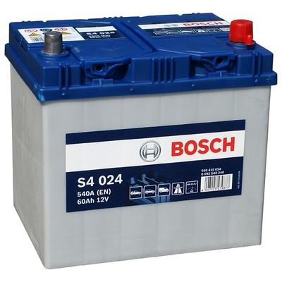 Аккумулятор BOSCH S4 024 560