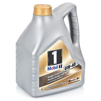 MOBIL 1 0W-40 4 л