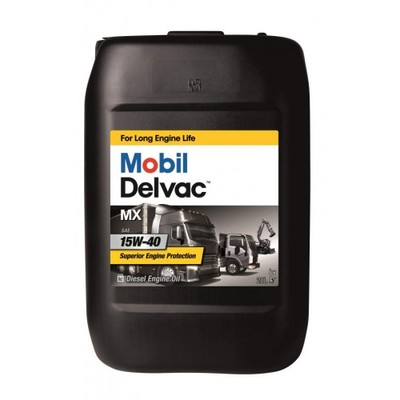 Mobil Delvac MX 15W40 Дизельное 20л