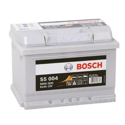 Аккумулятор BOSCH S5 004 Silver Plus
